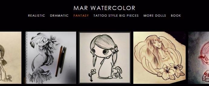 Sketch online portfolio