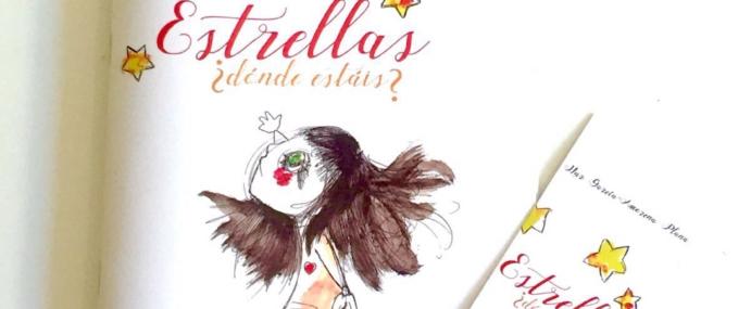 """""""Estrellas ¿dónde estáis?"""" lovely book for children"""