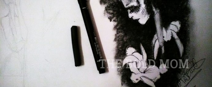 """Starting with """"Broken Dolls"""" Series of drawings. by Mar G.-Amorena"""