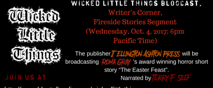 TERROR LOVERS! WICKED LITTLE THINGS broadcasting ROMA GRAY